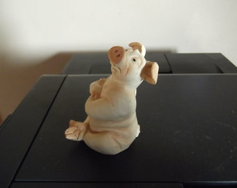 vintage 1990s pig from Pig Tails series