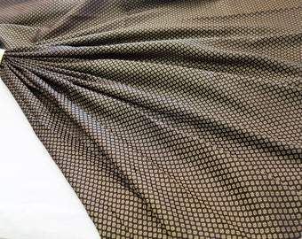black and gold brocade fabric