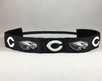 EmBands - Non Slip Coosa High School Headband; Coosa Eagles Headband; Sports Headband; Workout Headband; Soccer Headband; Girls Headband