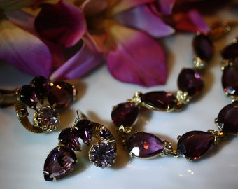 Perfectly Pleasing Purple Parure