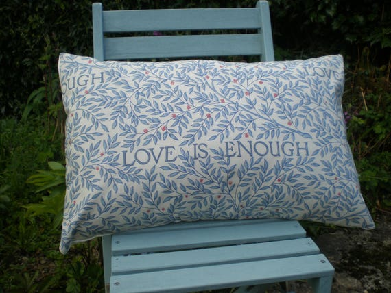 Cushion Cover - William Morris 'Love is Enough' Fabric