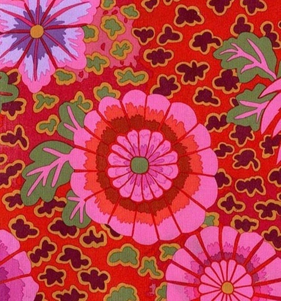 DREAM MAGENTA Pink PWGP148 Kaffe Fassett  Sold in 1/2 yd increments