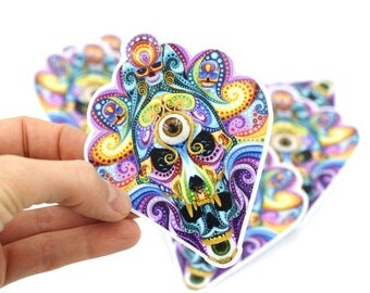 one Mask Skull stickers