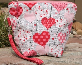 "Small ""Be My Valentine"" Project Bag 