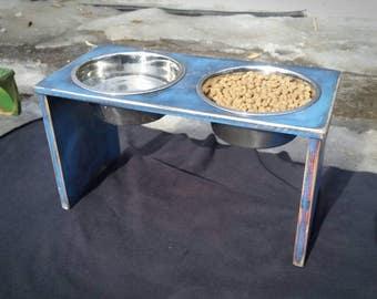 Dog Feeder, Elevated Dog Bowls, Raised Dog Bowl, Dog Bowl Station