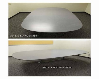 "Herman Miller Eames ""Racetrack"" Conference Dining Table"