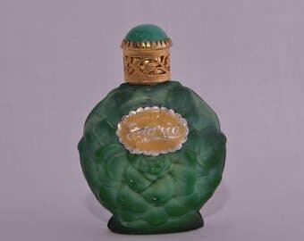Glass Vintage Perfume Bottle (250a)