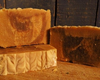 Cedar, Cinnamon, and Clove Goat Milk Soap