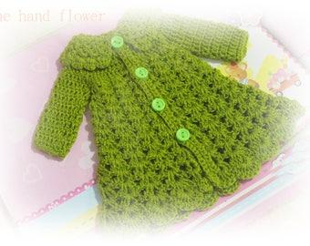 Handmade crochet Dress for Blythe.