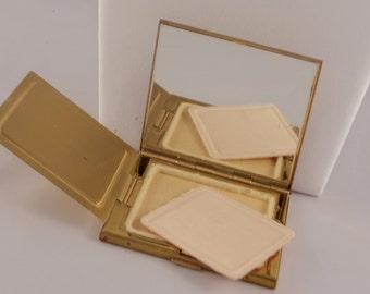 Antique makeup compact