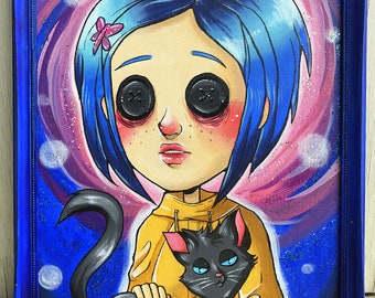 SALE -50 OFF- Coraline Painting