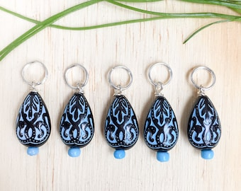 Tear Drop | knitting stitch markers| Knitting Accessory | Knitting Notions