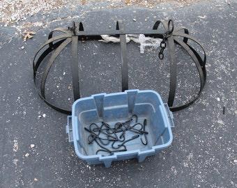 Large Wroght iron Hanging pot holder