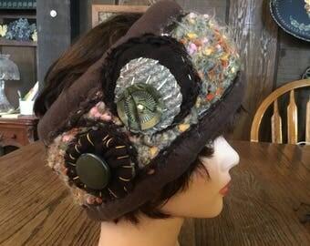 Ear warmer headband,  fleece ear warmer headband, crocheted ear warmer headband,  fleece headband,  crocheted headband