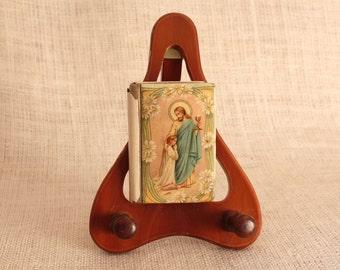 Bakelite Prayer Book, Vintage Celluloid Prayer Book, Catholic Missal Book, Childs Religious Book, Amen, Written in Dutch,  RARE DESIGN