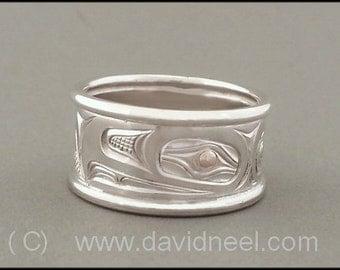 Eagle Ring - Northwest Coast Indian