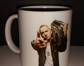 Eminem coffee Mug, great gift for music lovers