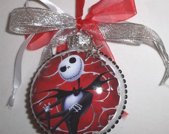 Nightmare before Christmas inspired Tribute Christmas Ornament