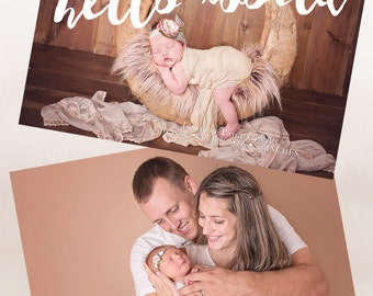 Newborn Announcement (Hello World)