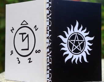 Supernatural Fanmade Sketchbook [A6 Dimension - Blank Pages]