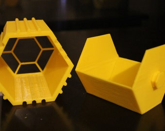 Desk Oranigazers - 3D Printed Interlocking Drawers and Cubbies