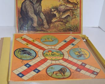 "Vintage 1930's Cutter and Saleeby ""India Bombay"" Game of India Game"