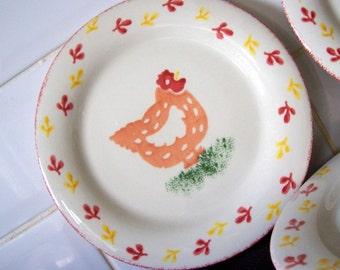 Set of Three Laura Ashley Salad Plates