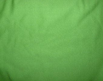 Fabric - cotton sweatshirt jersey fabric - Bright green