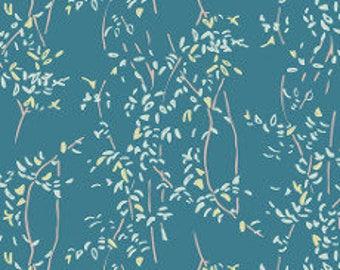 Fabric - Art gallery - jersey fabric - Bountiful Vine Umbra Knit
