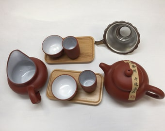 Beautifully crafted Yixing Tea Set on slae limited offer