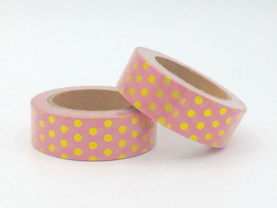 10m foil washi tape rolls light pink gold dots spring pantone 10m foil washi tape rolls light pink gold dots spring pantone fun girl planner supplies planning bestseller cheap from theilovelyifactory on etsy aloadofball Choice Image
