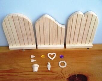 Fairy (or Hobbit) Door Kit - Large