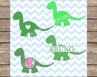 Dinosaur svg Dino svg Dinosaur Cut Files Dino Monogram svg Dinosaur Clipart  Cricut 1st Birthday svg files svg designs dinosaur silhouette