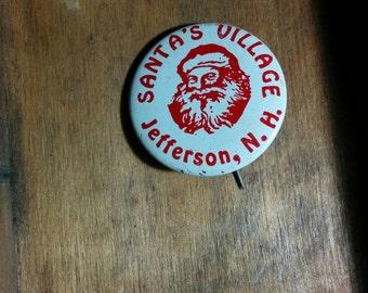 Santa's Village Vintage Pin