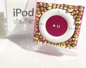 Custom Swarovski Crystalized iPod Shuffle