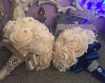 Bridal bouquet , 5 bridesmades bouquets