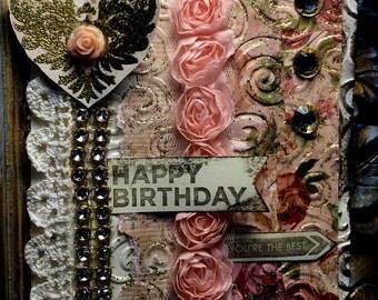 BIRTHDAY Greeting Card  !! SOLD !!