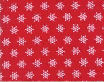 Sugar Plum Christmas by Bunny Hill Designs for Moda. Yardage Candy Red 2917 11
