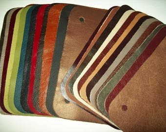 leather samples 25pk 6x9
