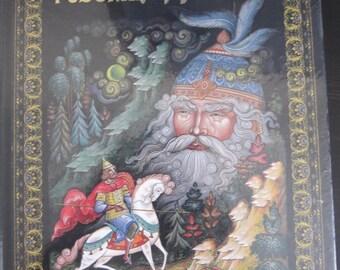 Pushkin's Fairy Tales Palekh Paintings Russian German edition