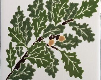 Oak Leaf tile