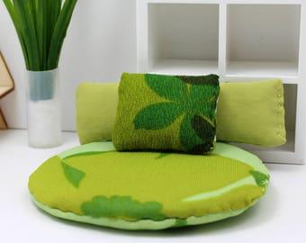 3 Pillow Set - Miniature Modern decor - Verdant Mods