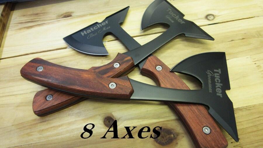 8 Best Groomsmen Gift Ideas Personalized Knife Hachet or