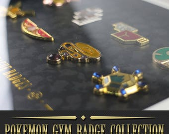 Pokemon GYM Badge collection - Gen6 XY Kalos Region and others