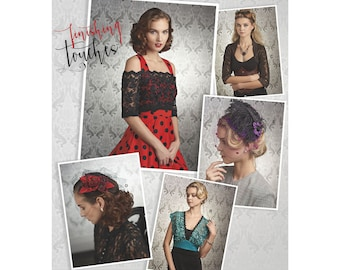 Simplicity Sewing Pattern 8365 Misses' Cover-Ups, Fascinator, and Hat