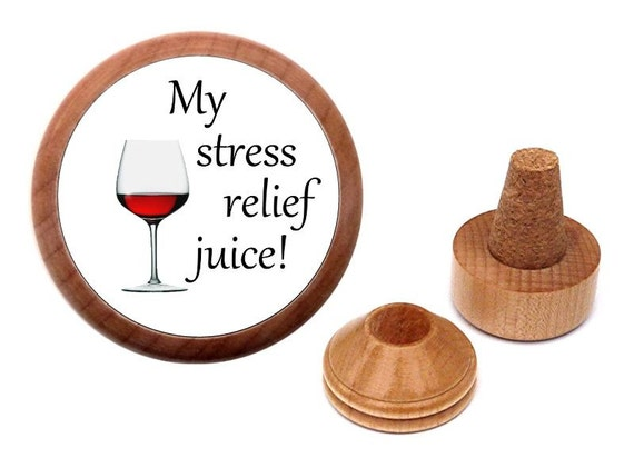 stress relief wine