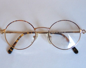 Blumarine vintage eyeglasses round frame made in the 90's.