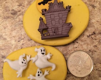 Hunted House And Ghost Mold Set silicone