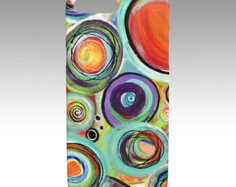 iPhone Cases Galaxy Cases Original Artwork Design Phone Cases Device Cases Modern Cotemporary Abstract Art Print