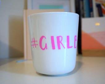 Handpainted Mug - #GIRLBOSS
